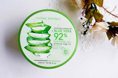 Gel Lô Hội Nature Republic Soothing & Moisture Aloe 92% Soothing Gel