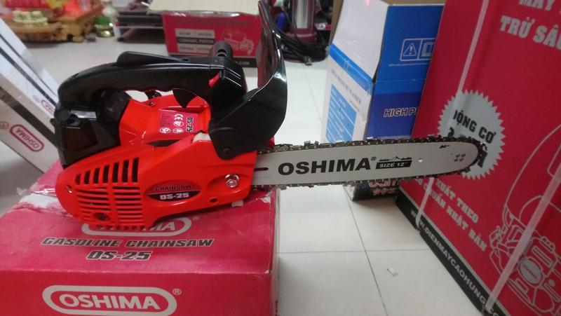 Máy Cưa xích Oshima OS 25 (2 Thì, Nòng 34mm, Lam 30.4cm)