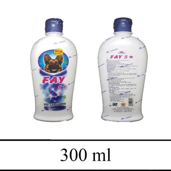 Sữa tắm chó mèo trị ve bọ chét thơm lâu - Fay sữa tắm 5 sao 300ml