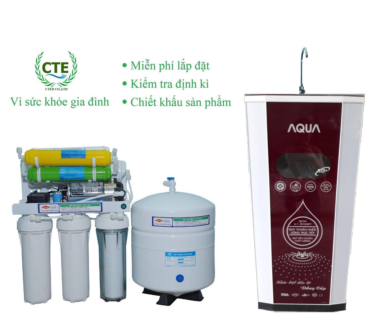 Bảng giá Máy lọc nước CTE 9 cấp lọc thùng 3D Điện máy Pico