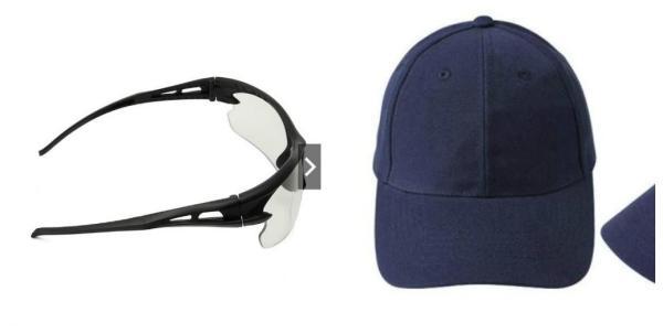 Giá bán Bộ kính phân cực nhìn xuyên đêm và mũ lưỡi trai xanh than nam nữ