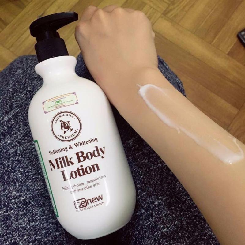 Sữa dưỡng thể làm trắng da Whitening Body Lotion Hàn Quốc 450ml nhập khẩu