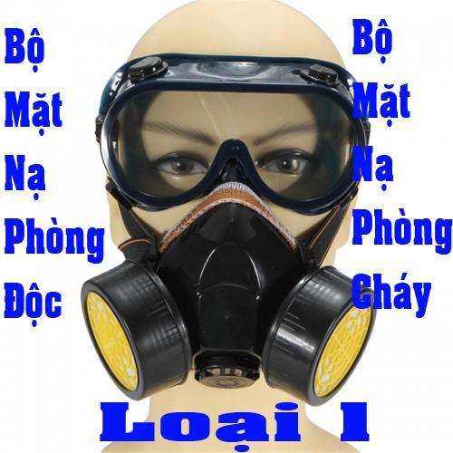 Mặt nạ chống khói; mặt nạ phòng độc; mặt nạ chống độc loại 1