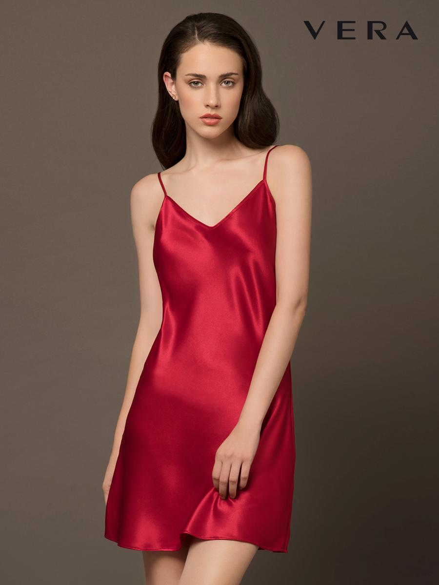 Đầm Ngủ, Mặc Nhà VERA VBCS8303 (màu đỏ) Đang Ưu Đãi Cực Đã