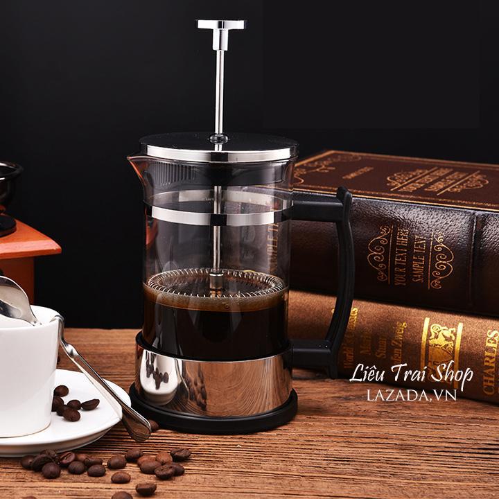 Bình pha cà phê cafe pha trà  French Press 350ml
