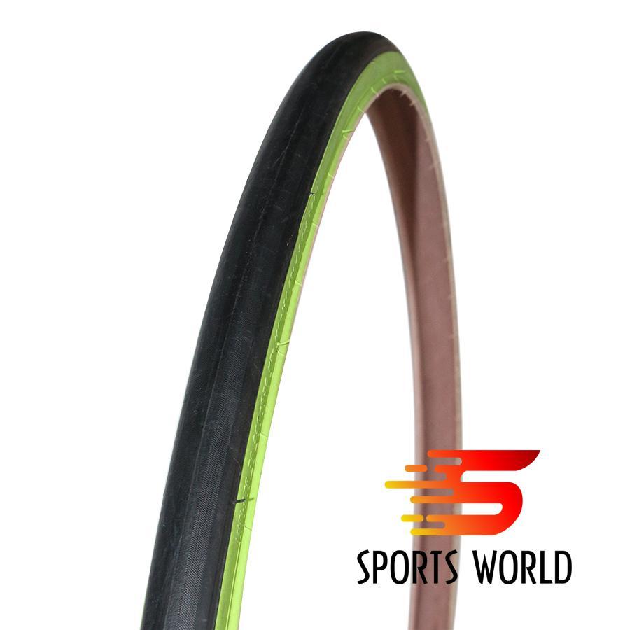 Vỏ xe đạp, lốp xe đạp không gai (vỏ trơn) 700x23C Deli-Tire Sa-205 hông màu - Vỏ xe đạp, lốp xe đạp, săm xe đạp, ruột xe đạp, phụ kiện xe đạp, phụ tùng xe đạp