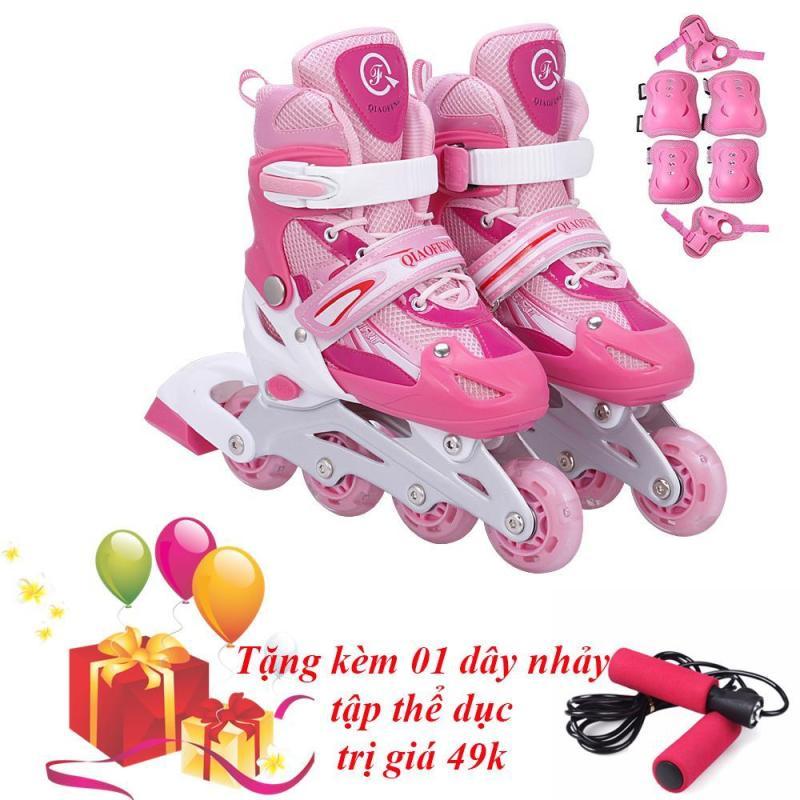 Mua Giày Trượt Patin Cao Cấp (SIZE M) và Đồ Bảo Hộ - VIVA SPORT (Tăng 1 Dây Nhảy Sunlin)