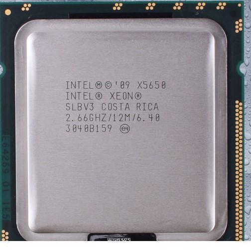 Hình ảnh Intel Xeon X5650- Hàng Tháo Máy