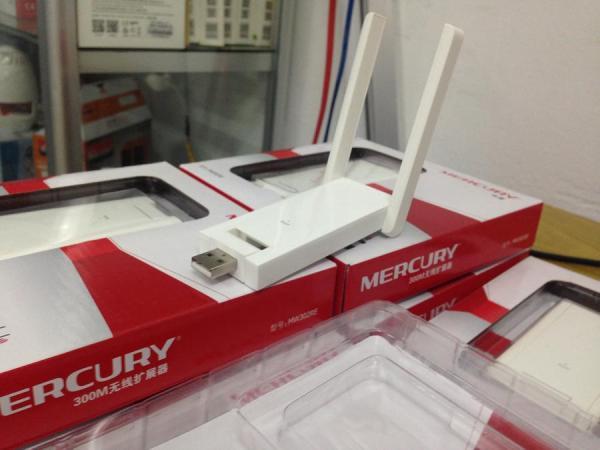 Giá Thiết bị kích sóng WI-FI Mercury 2 antena MW302RE 300Mbps (Trắng)