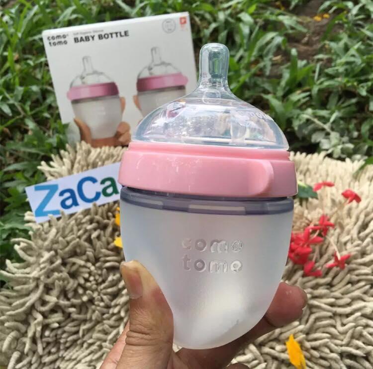 Bình sữa Comotomo siêu mềm cho bé 150ml