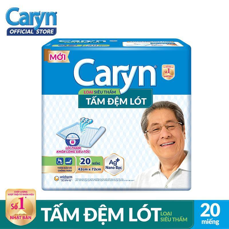 Tấm đệm lót Caryn siêu thấm và mỏng nhẹ 20 miếng tốt nhất