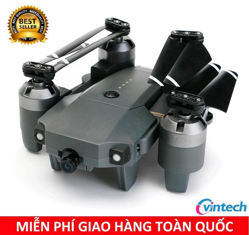 Flycam mini XT-1 quay phim chụp ảnh Full HD 720P có camera 2.0