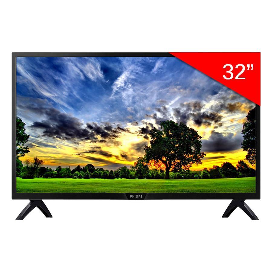 TV LED Philips 32inch HD - Model 32PHT4052S/67 (Đen) - Hãng phân phối chính thức