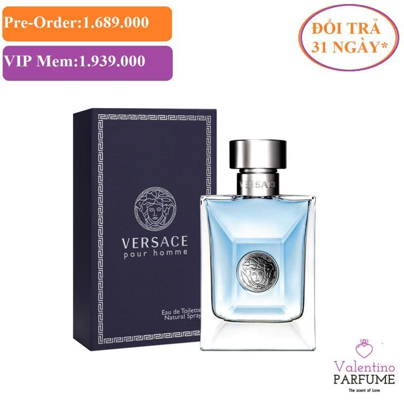 Nước hoa cao cấp Versace Pour Homme EDT Men 200ml - Đổi trả 31 ngày