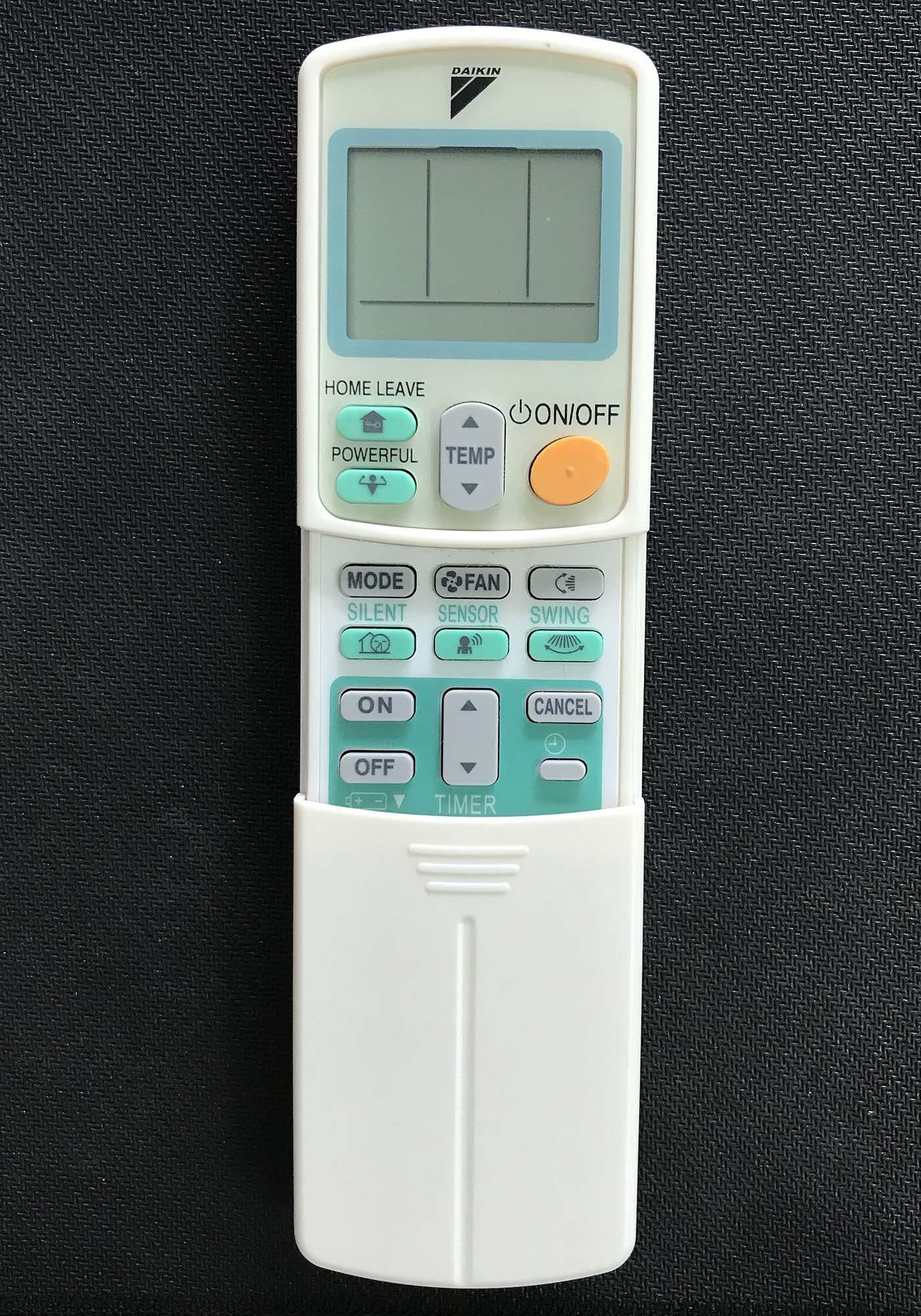 Điều khiển điều hòa Daikin inverter 1 chiều (trắng)