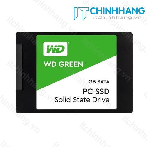 Ổ cứng SSD WD 240GB Green - HÃNG PHÂN PHỐI CHÍNH THỨC