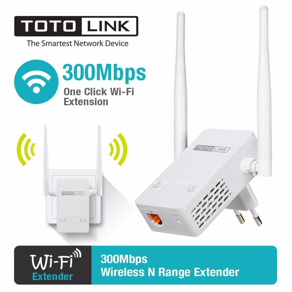 Kích sóng Wifi TOTOLINK EX200 - Hãng phân phối chính thức