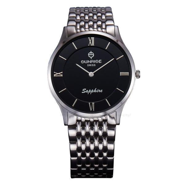 Đồng hồ nam siêu mỏng Sunrise DM736SWB Fullbox hãng kính Sapphire chống xước bán chạy