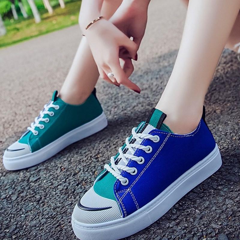 Giầy Sneaker Nữ ulzzang phối 2 màu  089
