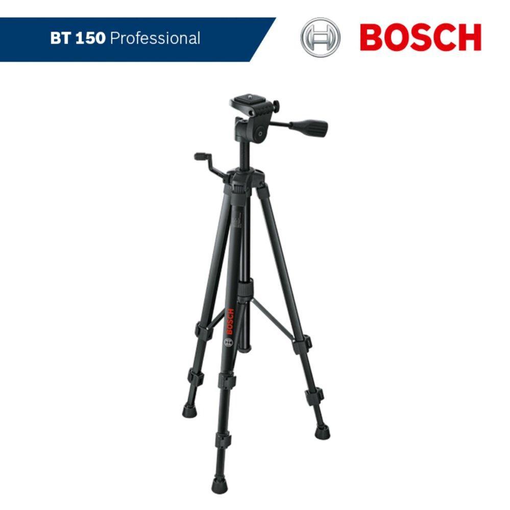 Giá đỡ ba chân xây dựng Bosch BT 150 ( Dùng cho máy đo khoảng cách, máy ảnh)