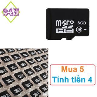 Thẻ nhớ 8GB Micro SDHC - Micro SD card 8GB thumbnail