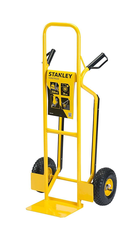 Xe đẩy tay 2 bánh cao cấp Stanley HT524 (tải trọng 250kg).