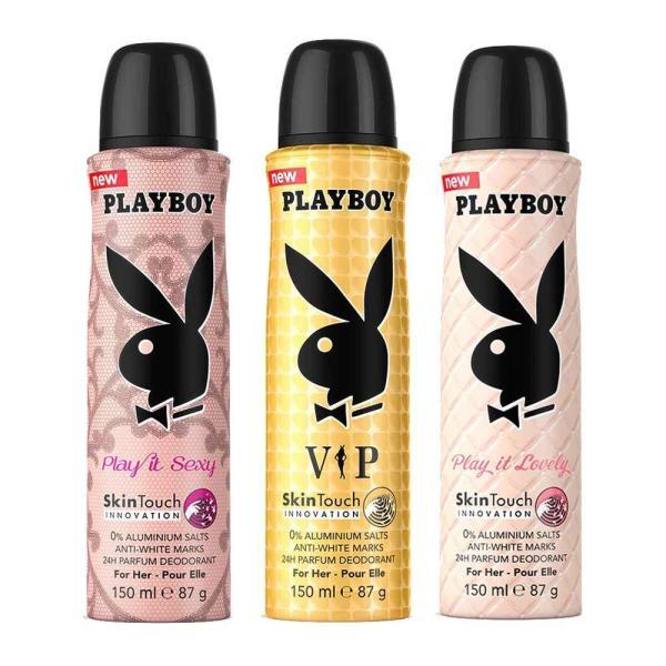 Xịt thơm toàn thân cho nữ Playboy 24h Parfum 150ml