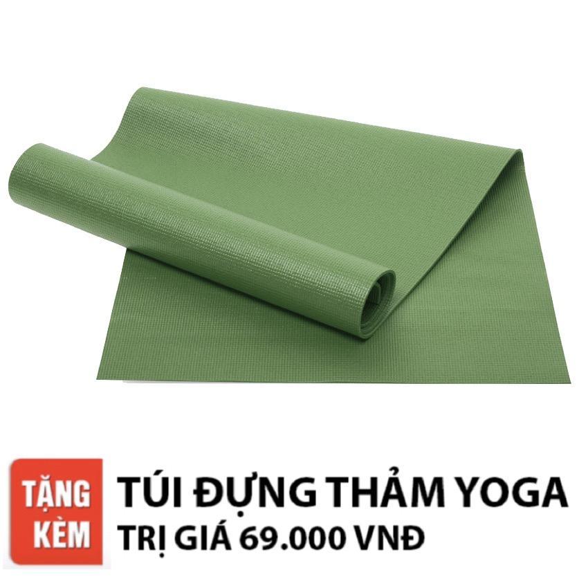 Thảm Tập Yoga Ribobi Trơn 6Mm Xanh La Ribobi Chiết Khấu 40