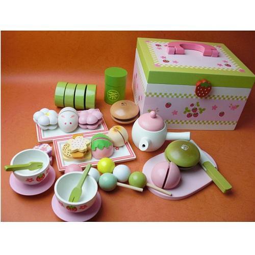 Hình ảnh Đồ chơi gỗ Mother Garden tiệc trà xanh