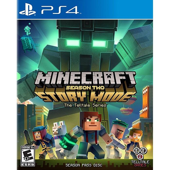 Đĩa Game PS4 Minecraft: Story Mode - Season 2 Hệ US