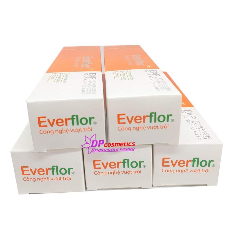 Combo 5 tuýp nhuộm màu tóc Everflor 100ml nhập khẩu