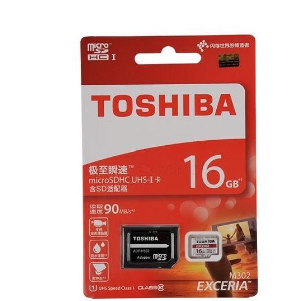 THẺ NHỚ 16GB TOSHIBA EXCERIA MICRO SDHC CLASS 10 Chuyên Dụng 4K - Hàng chính hãng - bảo hành 24 tháng - Model 2018