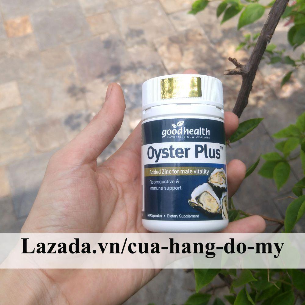 Tinh Chất Hàu OysterMinh Oyster Plus 60 viên - Tăng cường sức khỏe, sinh lực của nam giới, ngăn ngừa bệnh goodhealth