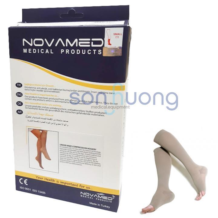 Vớ y khoa gối tĩnh mạch Novamed Size M