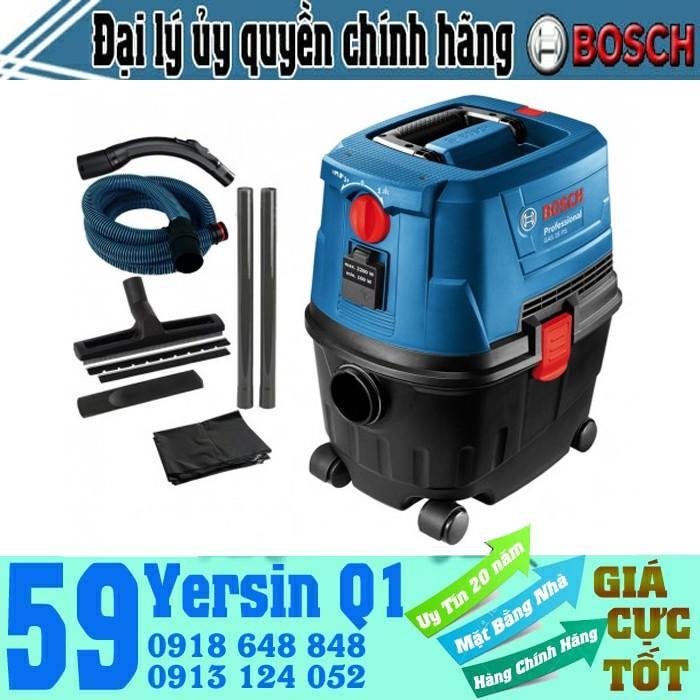 1100W Máy hút bụi khô và ướt Bosch GAS15 PS