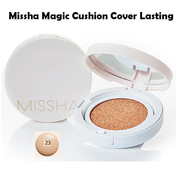 Hình ảnh Phấn Nước siêu kềm dầu, che phủ tốt Missha M Magic Cushion Cover SPF50+ Pa+++ No23