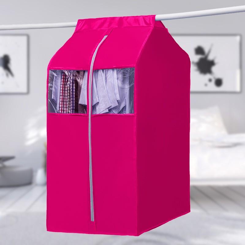 Túi Treo Bảo Vệ Quần Áo Váy Màu Trắng-Sáng Chống Bụi Size Đại Vải Dày Cao Cấp