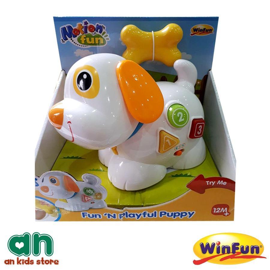 Hình ảnh Đồ chơi cún con điều khiển từ xa có nhạc WinFun 0693