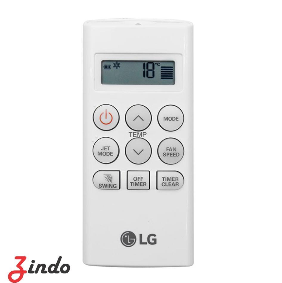 Remote máy lạnh 1 chiều LG ngắn (Trắng)