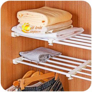 Kệ đa năng chia ngăn tủ không cần khoan bắt vít V2 MTST (38-60cm) thumbnail