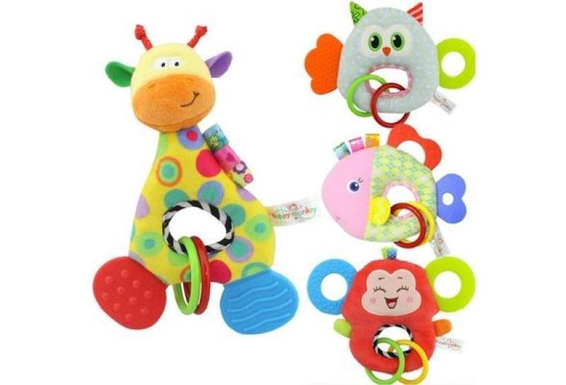 Đồ chơi tập cầm nắm,gặm nướu  cho bé(3 tháng-2 tuổi)