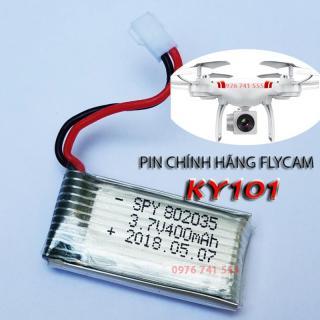 Pin Flycam KY101- Pin dự phòng của Máy bay chụp ảnh Flycam KY101 thumbnail