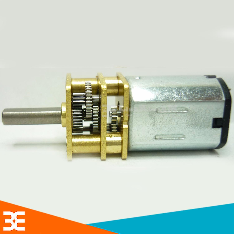 Hình ảnh Động Cơ Giảm Tốc JA12-N20 Mini 3-12VDC 120-480RPM Tỉ Số Truyền 1:50