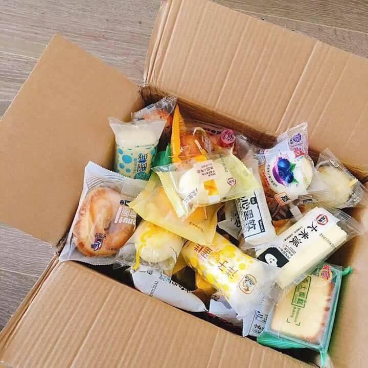Hình ảnh Box 1kg Bánh Tươi Đài Loan Mix 25 vị