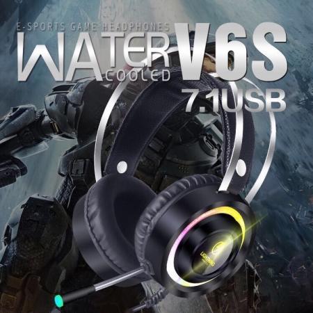 Bảng giá Tai nghe Lightning Super V6S 7.1 Led RGB Phong Vũ