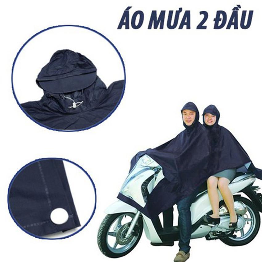 Áo mưa đi moto, Cửa hàng bán áo mưa tại tphcm, Áo mưa 2 đầu vải dù, Giá rẻ, Mẫu97