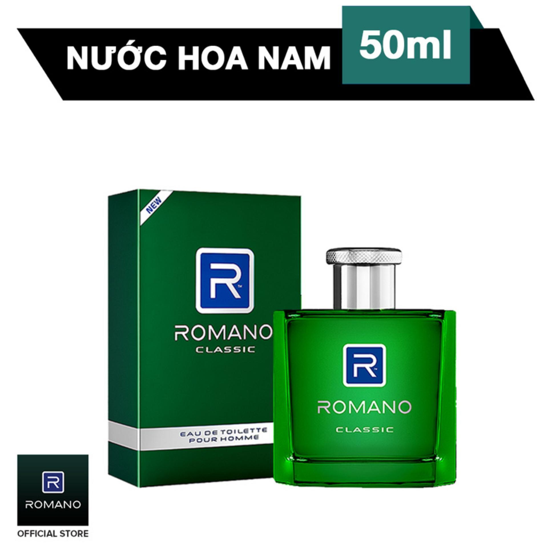 Romano nước hoa cao cấp Classic 50ml