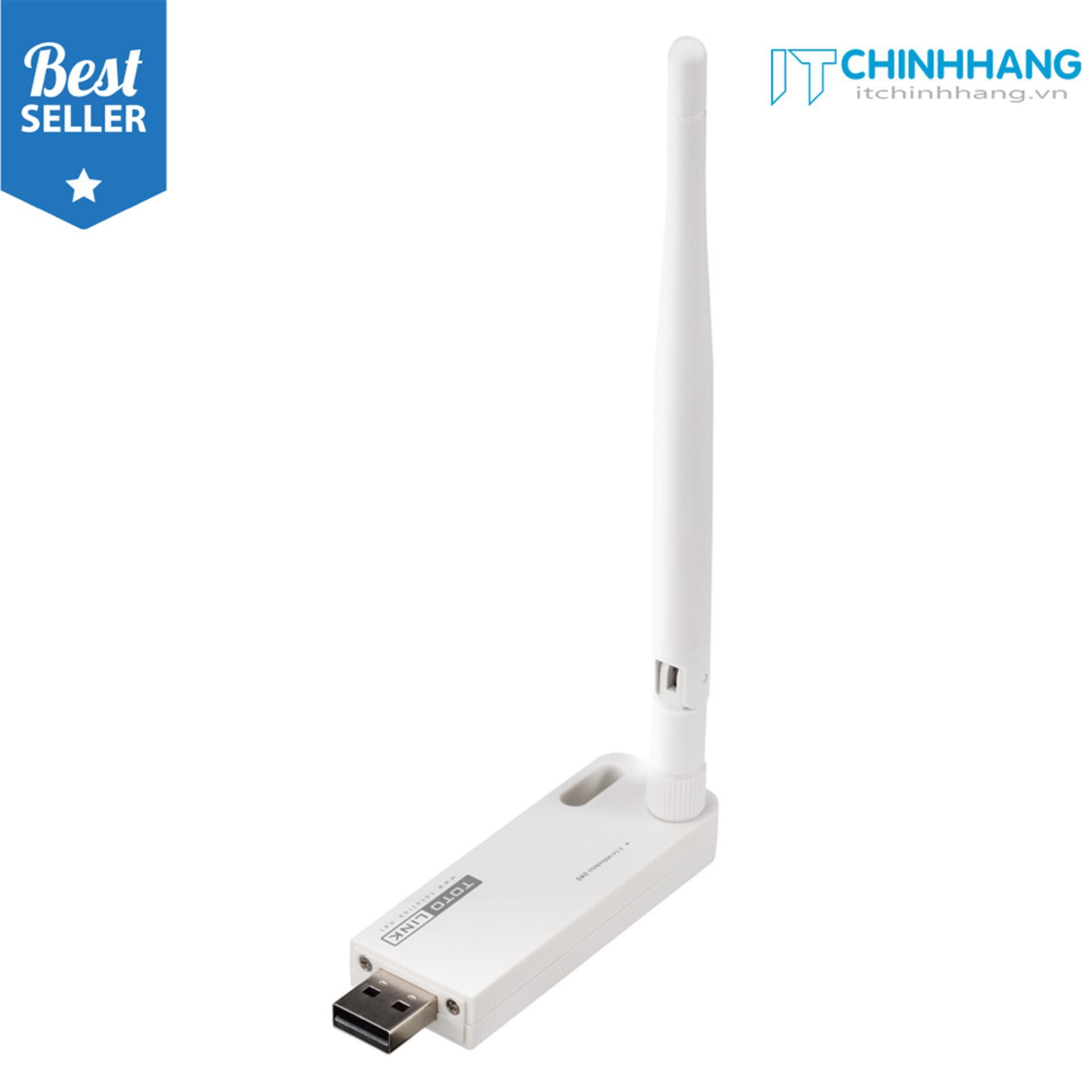 Hình ảnh Thiết Bị Kích sóng Wifi Repeater ToToLink EX100 (Trắng) - HÃNG PHÂN PHỐI CHÍNH THỨC