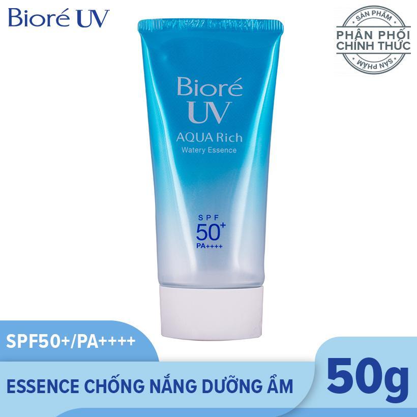 Bioré Essence Chống Nắng Dưỡng Ẩm UV Aqua Rich Watery Essence 50g