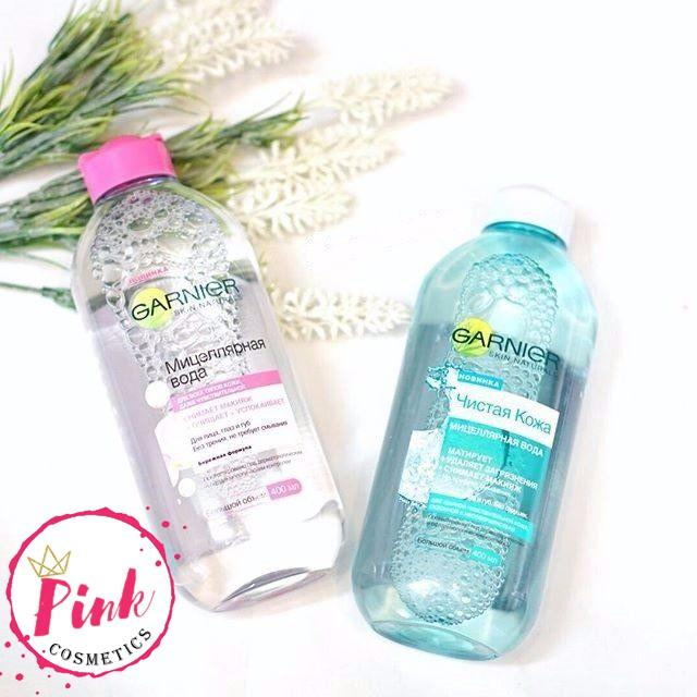 Mua Nước Tẩy Trang Garnier Micellar Cleansing Water Nga Lọ Mau Hồng Trong Việt Nam